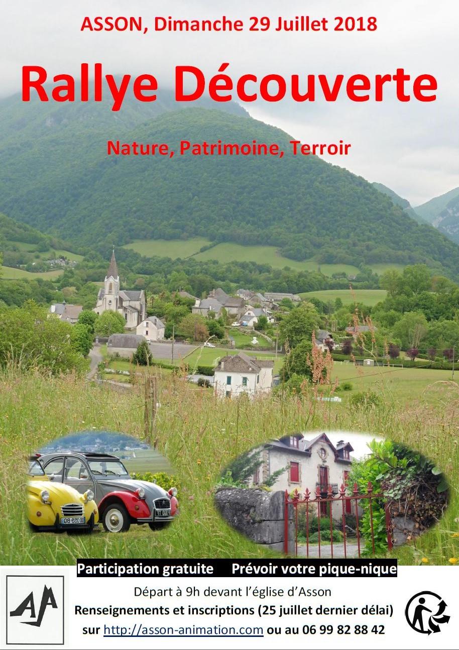 Affiche Rallye 2018